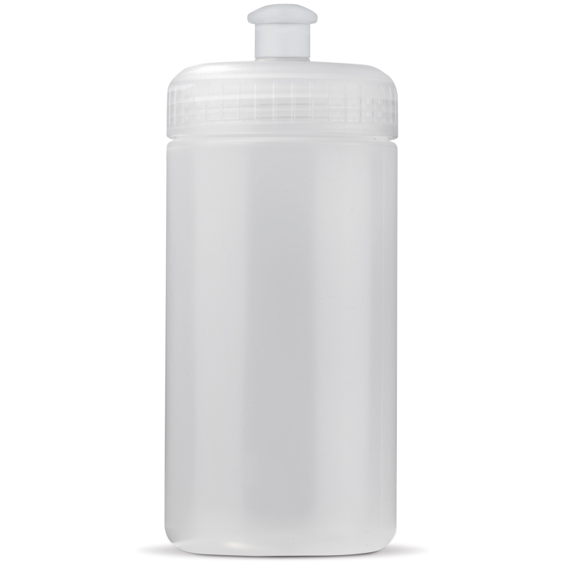 Sportbidon 500 ml transparant